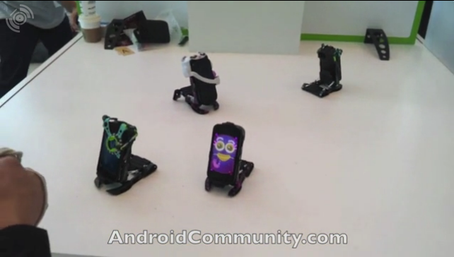 Hasbro Android Robot Toys get I/O video playtime
