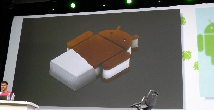 Android Ice Cream Sandwich Officially Announced at Google I/O
