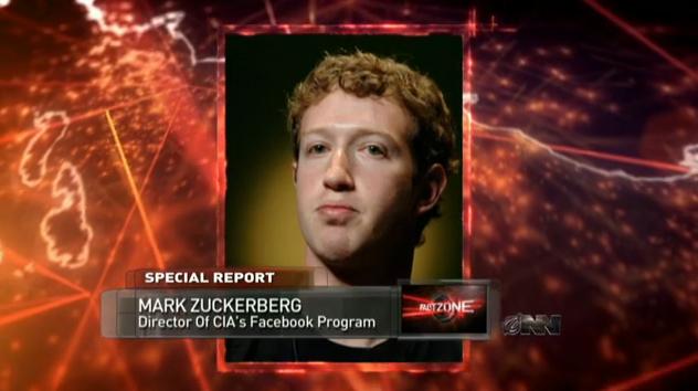 CIA Reveals Facebook to be Part of Patriot Act, Zuckerberg Secret Agent