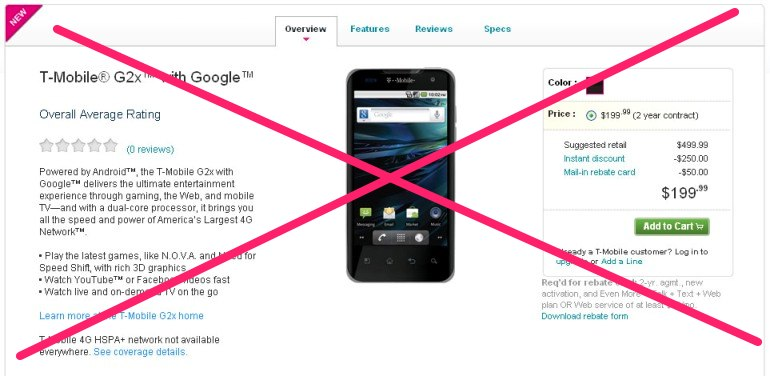 T-Mobile G2x Disappearance Explained, Firmware Updates