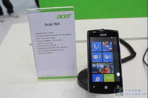 Acer W4 mango smartphone specs revealed