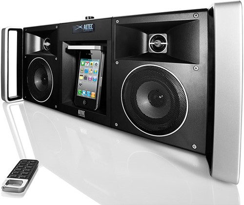 Altec Lansing Unleashes New MIX Boombox iMT810