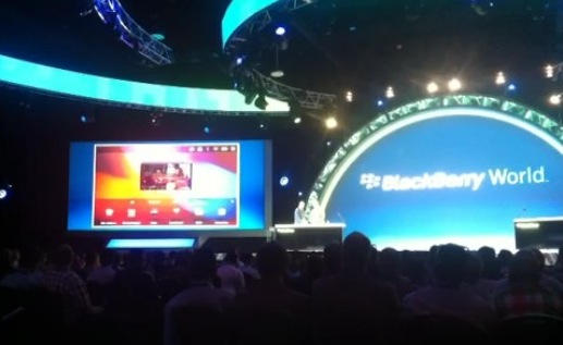 Android apps on BlackBerry PlayBook gets first demo
