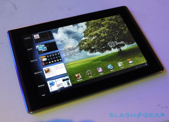 Asus can only build 10K Eee Pad Transformer tablets per month