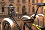 Concept bike has handlebars that turn into a bike lock