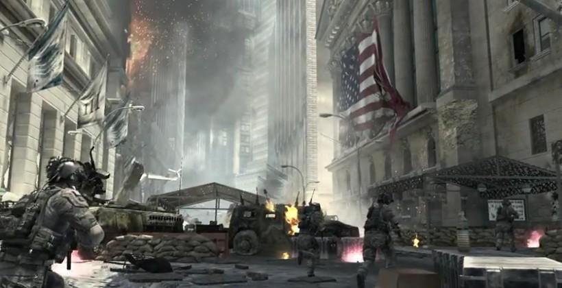Call Of Duty: Modern Warfare 3 First Explosive Trailer [VIDEO]