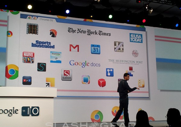 "Google Chrome OS ""Chromebook"" Detailed"