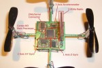 CrazyFlie quadrocopter uses a Playstation controller for control