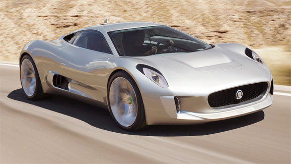 Jaguar to build limited run of C-X75 supercars with gas and electric power