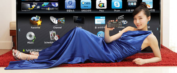Samsung D9500 is 75-inches of Smart TV