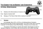 Sony opts out of Data Theft congressional hearing
