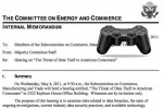 Sony Responds to the House of Representatives Hearing on Data Theft