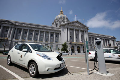 San Francisco offers free charging for EVs through 2013