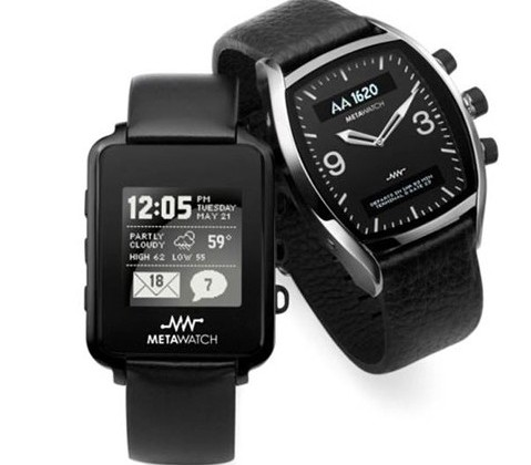 Fossil Meta Watch: Phone updates on your wrist