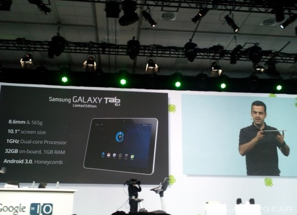 Google I/O First Keynote Recap: Android 3.1, Android Ice Cream Sandwich, Google TV, Music Beta, Movies and More