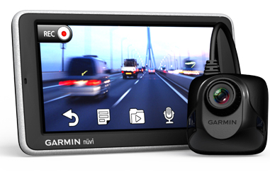 Garmin nuvi 2565RT PND records your route with camera add-on [Video]