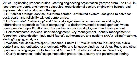 HP's Amazon-rivaling cloud plans leak: Backbone of webOS media store?
