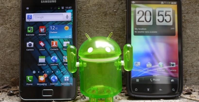 HTC Sensation vs Samsung Galaxy S II [Video]
