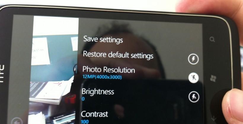 HTC 12-megapixel Windows Phone caught in wild