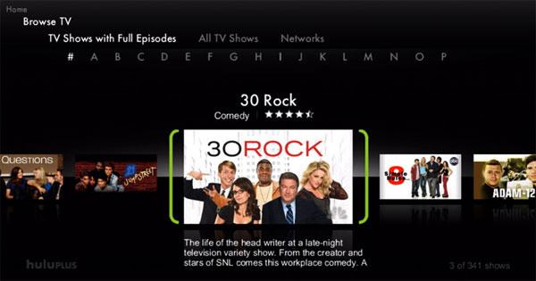 Hulu Plus lands on TiVo Premiere DVRs
