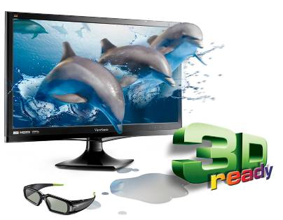 ViewSonic V3D245wm-LED 24-inch 3D LCD revealed