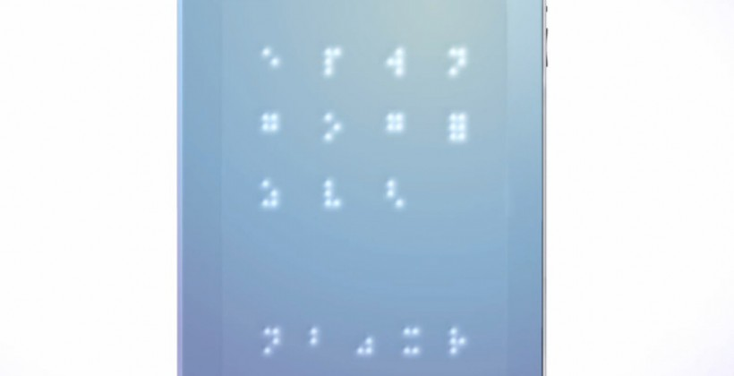 iSense Concept Brings Braille To iPad