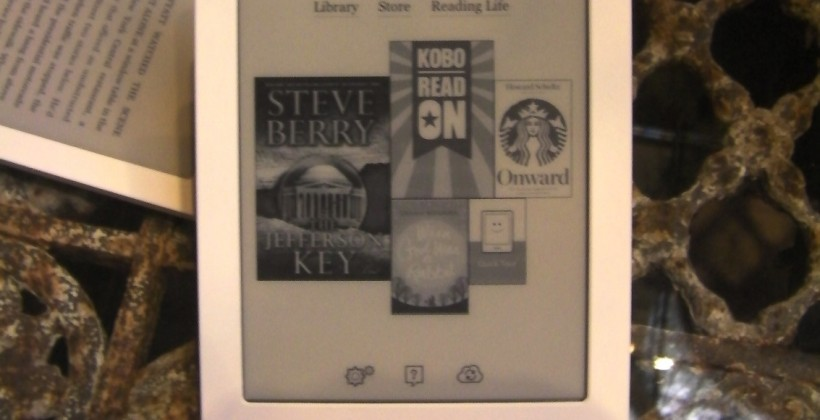 Kobo Touch ereader revealed: 6-inch touchscreen for $130