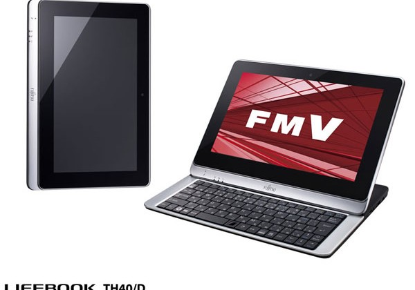 Fujitsu shows off interesting Lifebook TH40/D slider