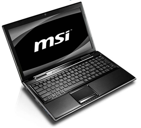 MSI debuts new notebooks at Computex 2011 including G, C, X, and F series machines
