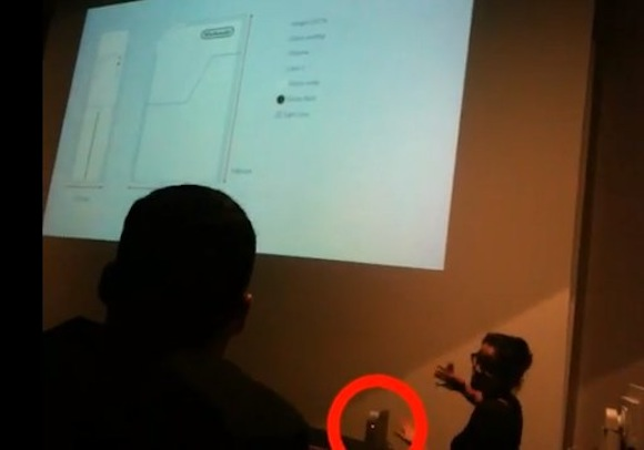"Nintendo ""Project Café"" Wii 2 caught on video?"