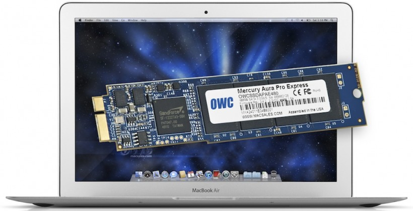 OWC puts 480GB SSD into the MacBook Air (but it'll cost you)