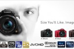 Panasonic Lumix G3 is the smallest and lightest interchangeable lens cam it offers