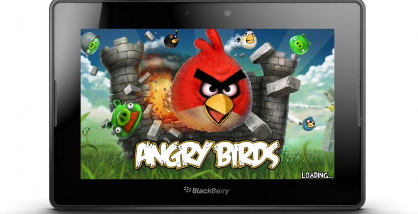 Angry Birds for PlayBook confirmed