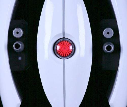 DIY Portal turret has motion detection and laser eye