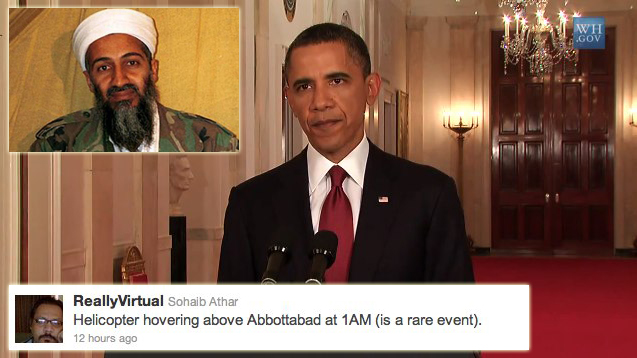 Osama bin Laden dead: Raid was confidential but Twitter wasn't [Video]