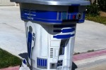 DIY R2-D2 rolling trash can would get stolen (by me)