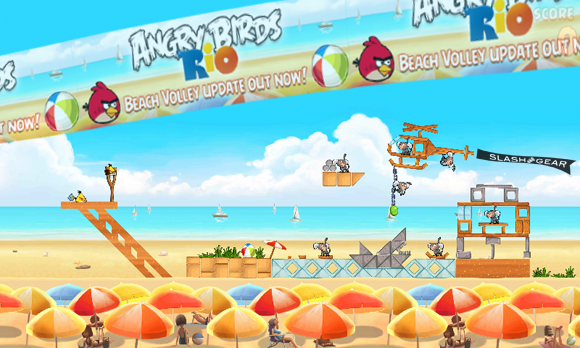 Angry Birds RIO Beach Volley Release Date Today!
