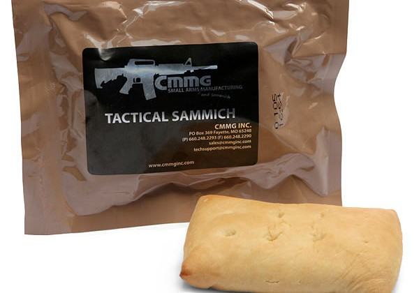 Think Geek Tactical Sammich to power zombie fighters of the future