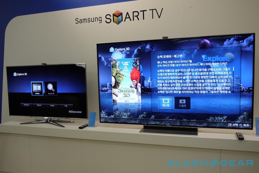 Samsung D9500 75 Inch Smart Tv Eyes On Slashgear