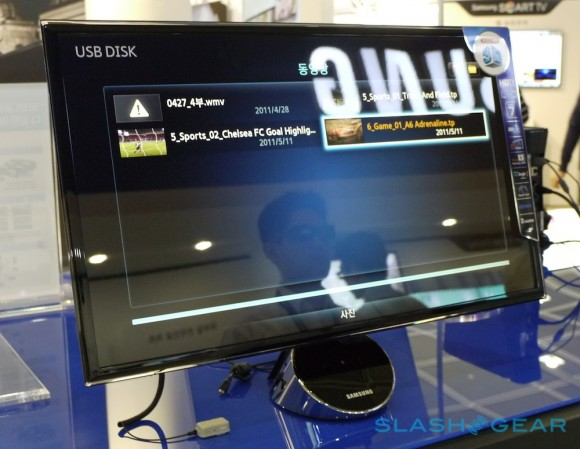 Samsung's 30-inch AMOLED TV: 3D Without the Dizziness ... |Samsung 3d Tv Without Glasses