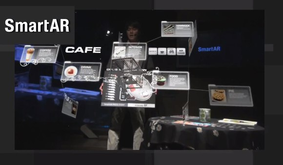 Sony SmartAR offers augmented reality without marker glyphs [Video]
