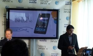 Samsung/AT&T Event, Infuse 4G Announced [Update: Available May 15]