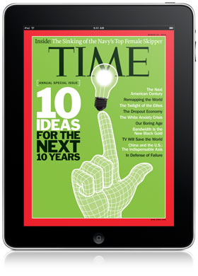 Apple softening on iPad subscriptions as Time inks print access deal?