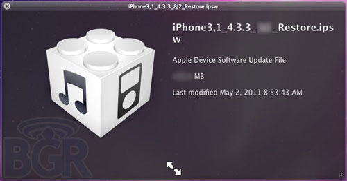 "Apple iOS 4.3.3 will fix tracking ""bug"""