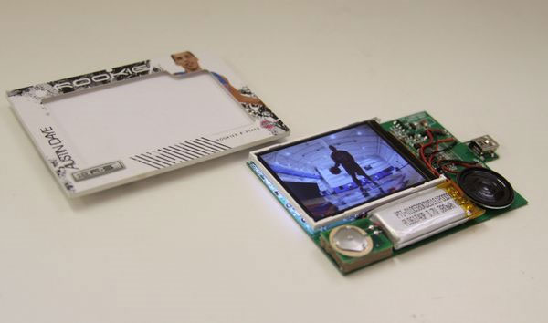 Sports trading cards go high tech with video