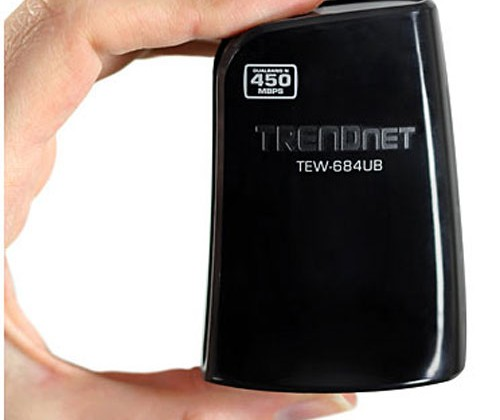 Trendnet unveils new 450Mbps dual-band Wireless N USB adapter