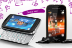 Sony Ericsson Reveals Two New Feature Phones, Txt Pro and Mix Walkman