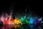 Exploding water balloons make awesome pictures