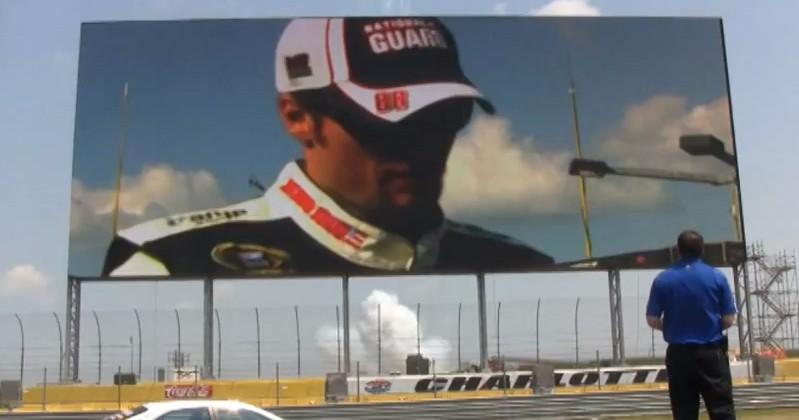 Panasonic Makes World's Largest HDTV For NASCAR