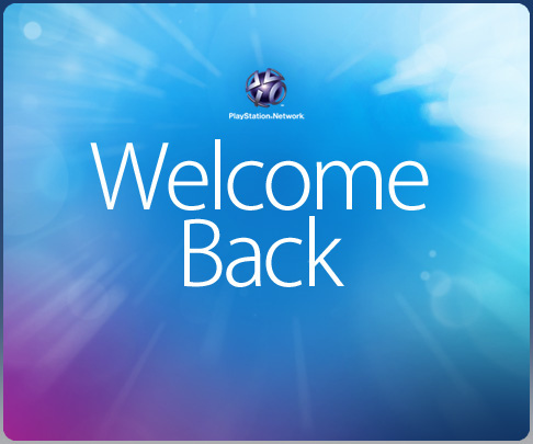 "PlayStation Network ""Welcome Back"" Program Available Now!"